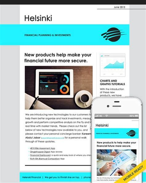 newsletter email marketing templates newsletter