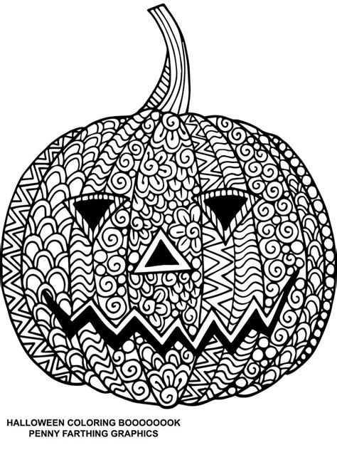 pumpkin coloring pages for adults 545 best images about zentangle on pinterest coloring