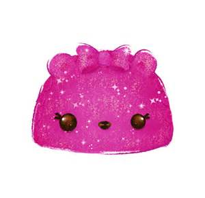 glittery berry character num noms