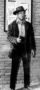 john payne guns  tv westerns  pinterest