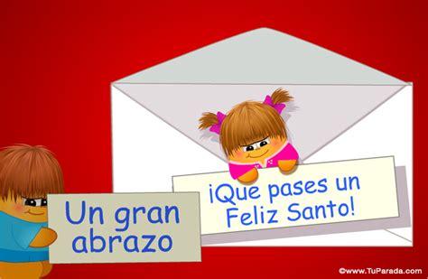 imagenes feliz santo sobre con sorpresa feliz santo ver tarjetas postales