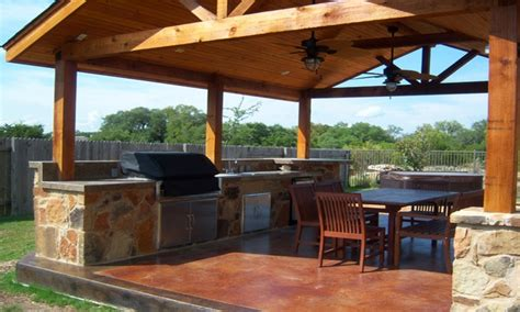 Gable Roof Patio Outdoor Patio Cover Designs Outdoor Kitchen Covered Patio