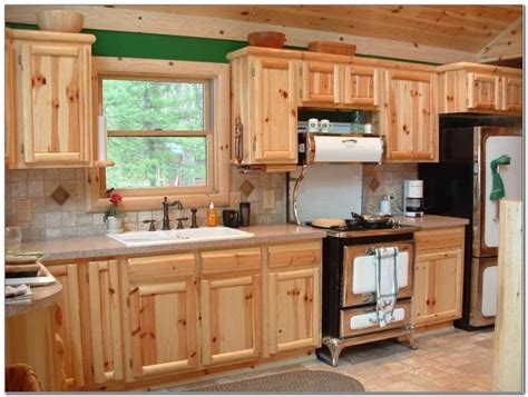knotty pine kitchen cabinets online knotty pine kitchen cabinets refinishing cabinet home