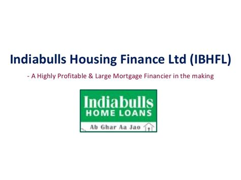 housing finance mortgage indiabulls housing finance updated