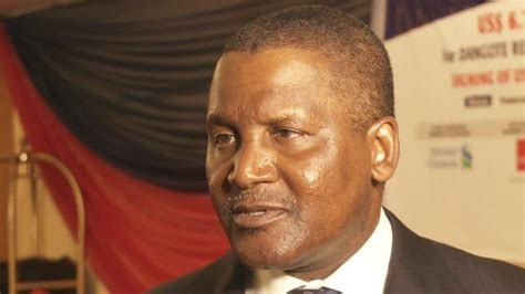Africa S Richest Aliko Dangote Plans More Investments In Zambia by Africa S Richest Aliko Dangote News