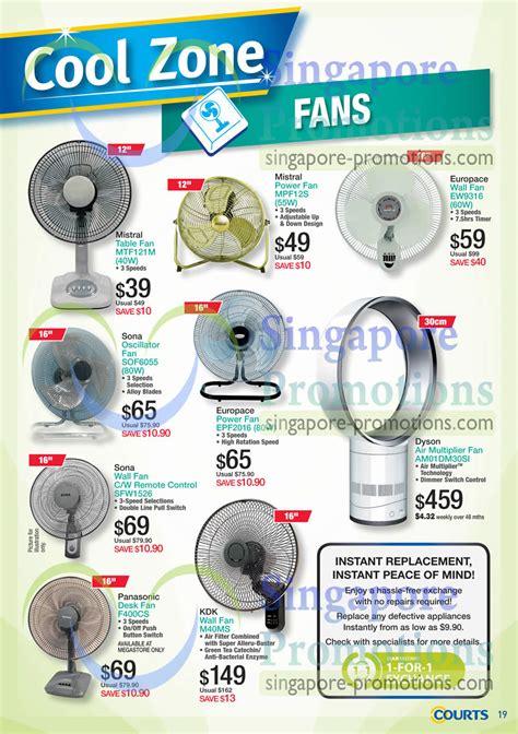 dyson fan promotion singapore fans table power wall oscillator air multiplier desk