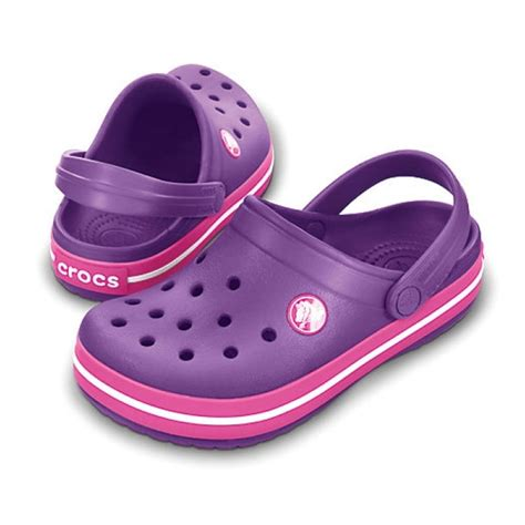 shoes like crocs comfort crocs kids crocband shoe dahlia fuchsia all the comfort