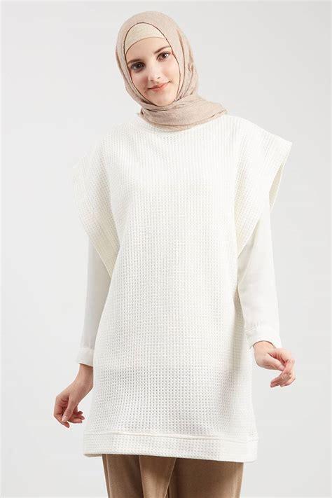Sale Mesin Pengering Sepatu Bisa Dipanjang Pendek sell veruca sweater white outerwear hijabenka