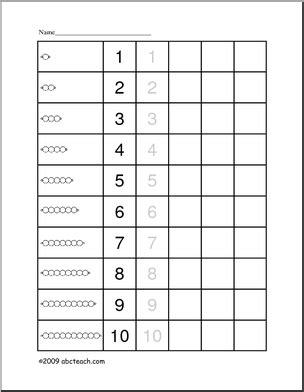 printable montessori math worksheets worksheet bead bar 1 montessori abcteach