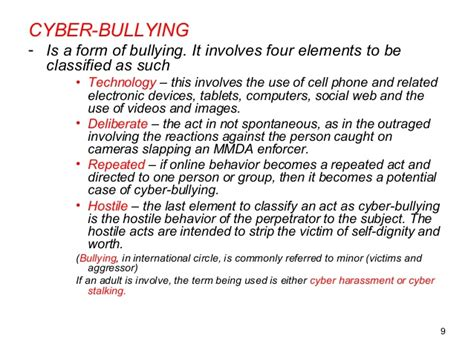 thesis statement about physical bullying cyberbullying thesis in the philippines homeworkroutine