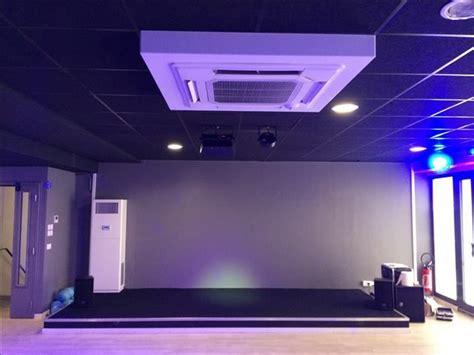 Climatisation Plafond by Climatisation En Plafond Cassette Contact Cristal Air