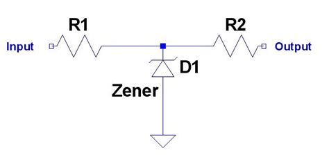 what will you use a zener diode for diodes why are resistors used in a zener cl circuit electrical engineering stack exchange