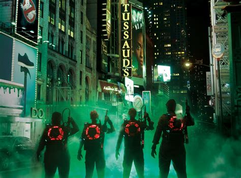 madame tussauds times square new years how ghostbusters will kick at madame tussauds new york with hyper reality experience