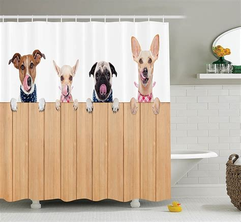 puppy shower curtain pawsome gift ideas for absolute