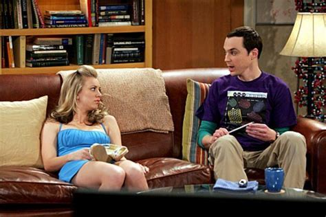 bang couch sheldon and penny on the couch the big bang theory