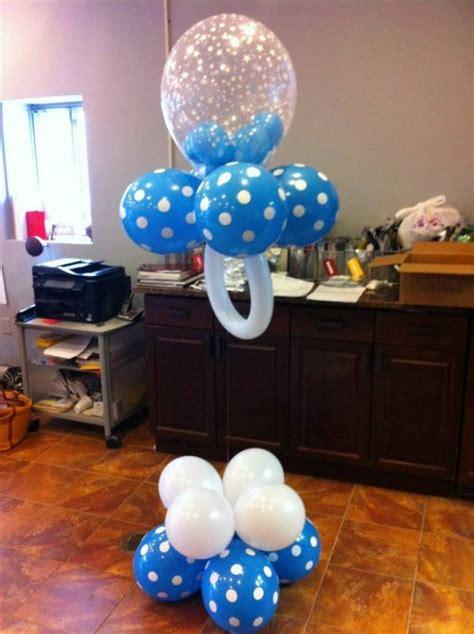 baby shower balloons balloon pacifier baby boy baby shower decor balloon decor pinterest