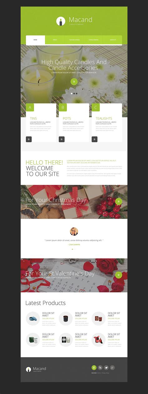 Hobbies Crafts Website Template 54685 Templates Com And Craft Website Templates