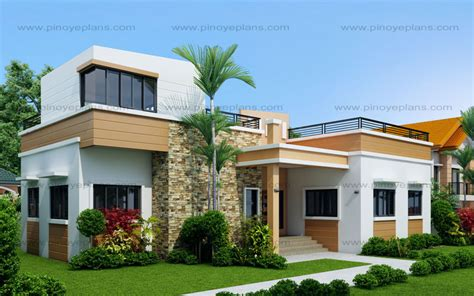 house design ideas 2016 rey four bedroom one storey with roof deck shd 2015021