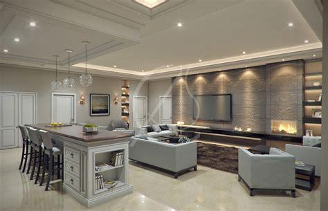 modern classic villa interior design cas