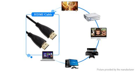 Hdmi To Hdmi Cable V1 4 5 28 hdmi v1 4 to hdmi cable 5m hd line