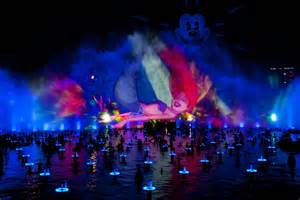 what time does world of color start trivia contest gives winners access to carpet and