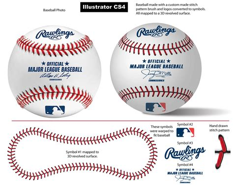 baseball pattern template baseball stitch pattern brush by vectorgeek on deviantart