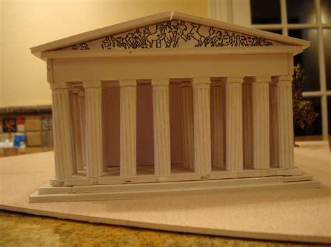 the parthenon athens greece model