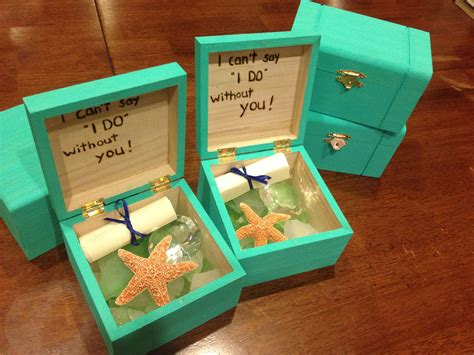 Wedding Gift Ideas Hong Kong by Bridesmaids Boxes For Our Cruise Ship Destination Wedding
