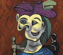 picasso paintings west ct picasso painting femme assise robe bleu sells for 163 35m at