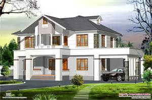 western style house plans 2400 sq feet western style home in kerala house design plans