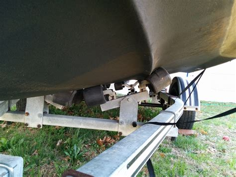 trailer rollers alignment question the hull truth - Boat Trailer Roller Alignment