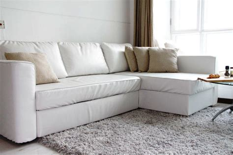 White Leather Sleeper Sofa by White Leather Sleeper Sofa Sofa Sleeper