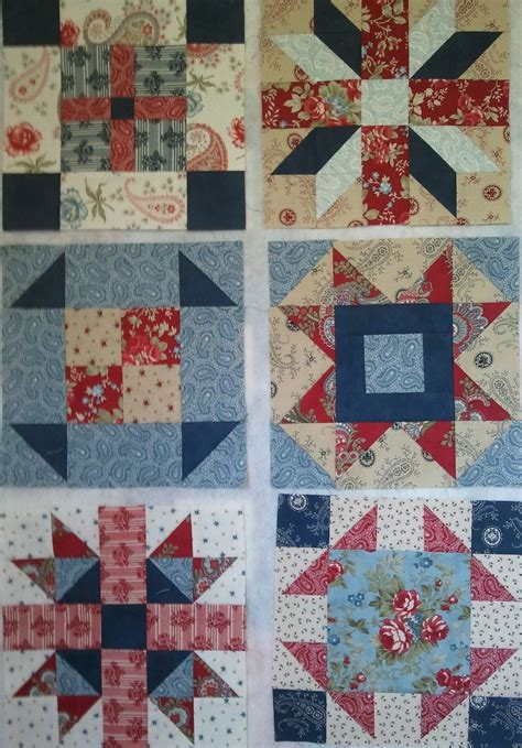 Gum Valley Patchwork - sler quilt block of the month gum valley patchwork