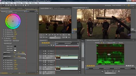 color correction premiere how to color correct in premiere pro cs5 tutorial