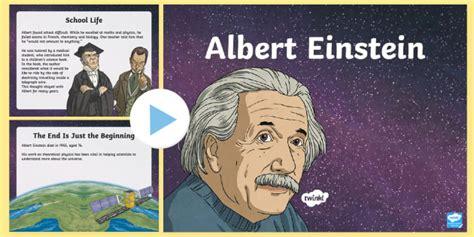 albert einstein biography ks2 new ks2 albert einstein information powerpoint physics
