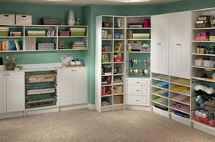 craft room shelving ideas storage and design tips for a craft room