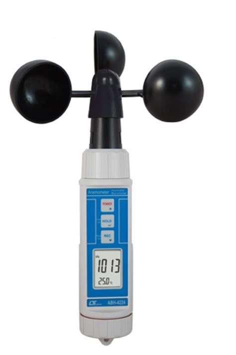 Lutron Abh 4224 anemometro de copas cazoleta en per 250 bar 243 metro humedad