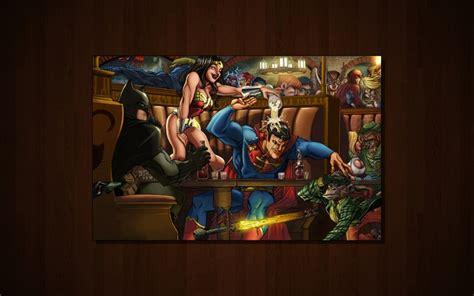 batman thanksgiving wallpaper batman dc comics superman funny power girl green arrow