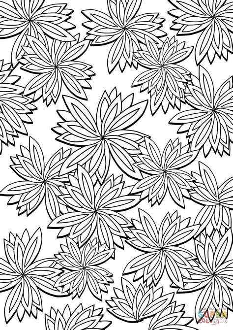 pattern color free floral pattern coloring page free printable coloring pages