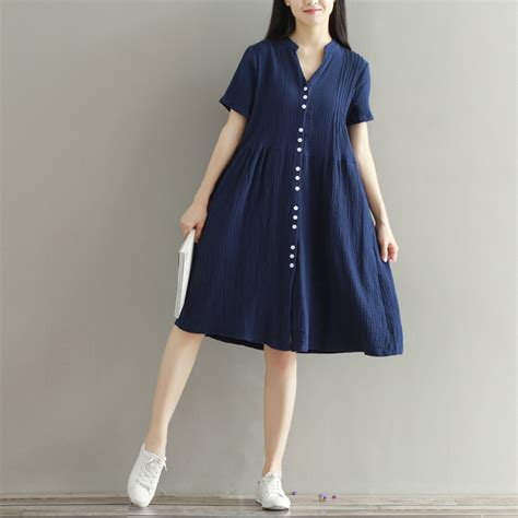 For Two Reviana Linen Dress 4 plus size linen shift dress sleeve oversized flax fit tunic ebay