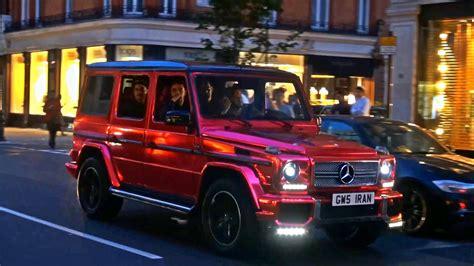 mercedes g wagon red loud chrome red mercedes g wagon amg youtube