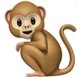 new year monkey emoji monkey emoji u 1f412