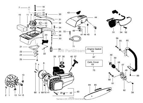poulan pro chainsaw parts diagram poulan s23 arbor pro parts diagram for external power unit