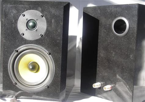 diy speaker projects diy granite speakers with seas g17rex p and 27 tffc drivers