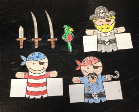 pirate finger puppets puppet showplace theater