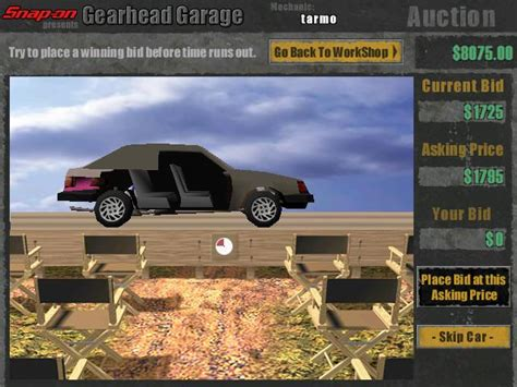 Gearhead Garage Free Version by Gearhead Garage 2 Pl