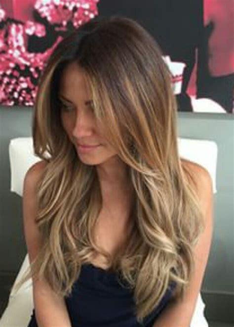 Best 25  Long layered bangs ideas on Pinterest   Long layered hair with side bangs, Long layered