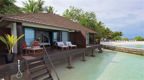 Luxury Bathroom Floor Plans lily beach maldives lagoon villa