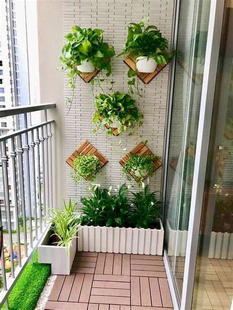 small apartment balcony garden design ideas small