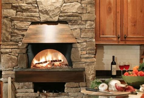 kitchen fireplace design ideas pizza oven in the kitchen 25 ideas for true pizza lovers